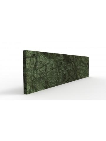 Zoccolino in verde guatemala