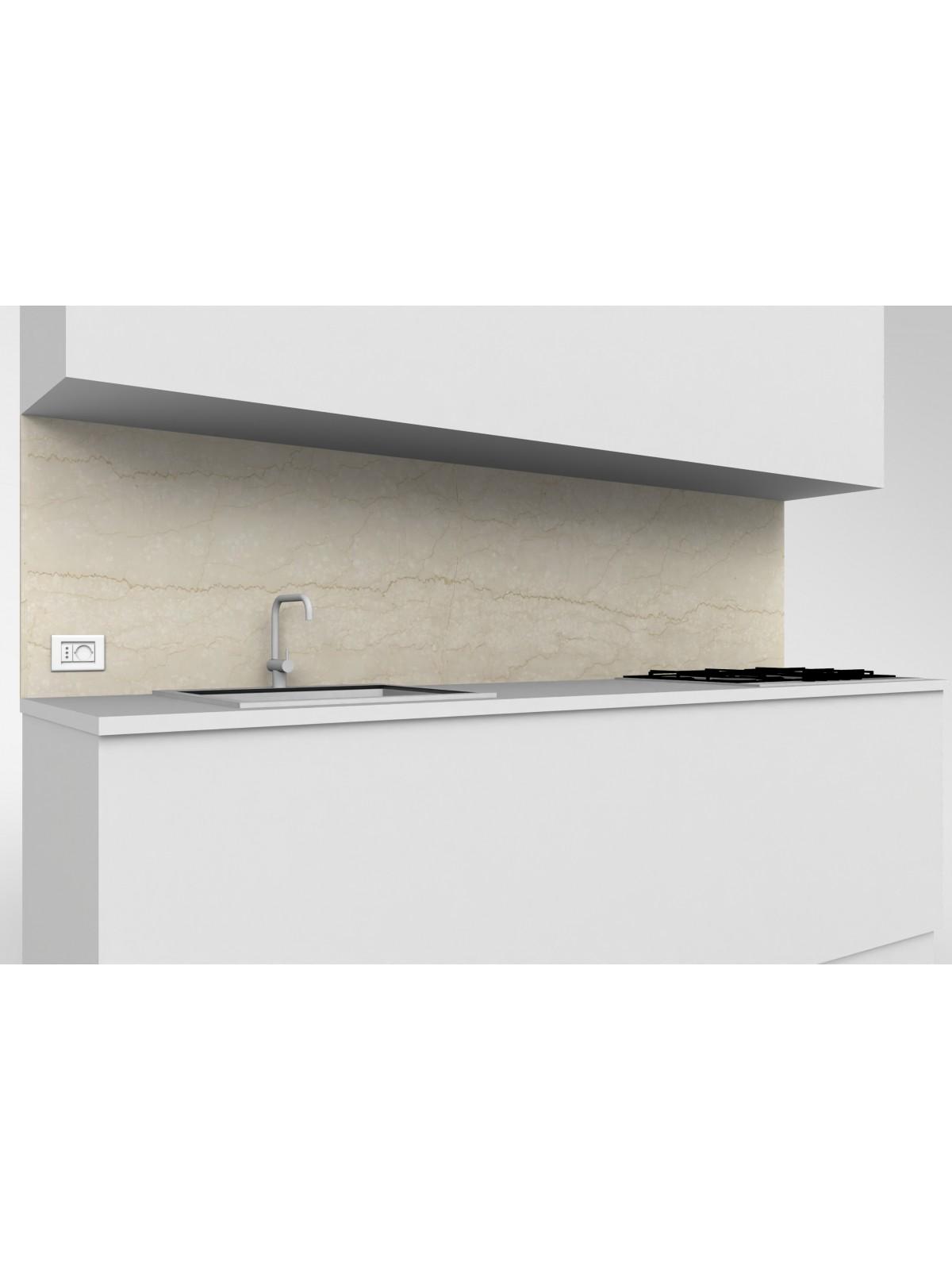 Alzata mobile cucina in marmo Botticino