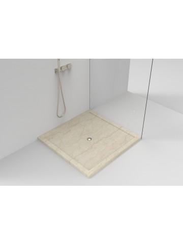 Piatto doccia soprapavimento in Botticino