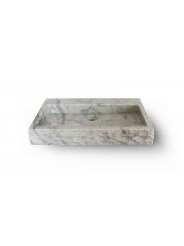 Lavabo in Carrara quadrato