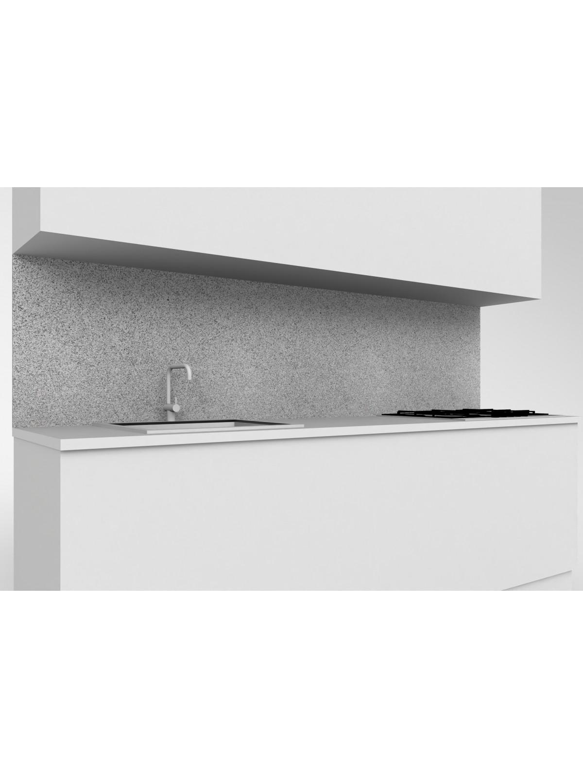 Alzata mobile cucina in diorite chiara