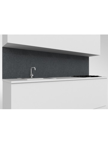 Alzata top mobile cucina in Diorite Scura