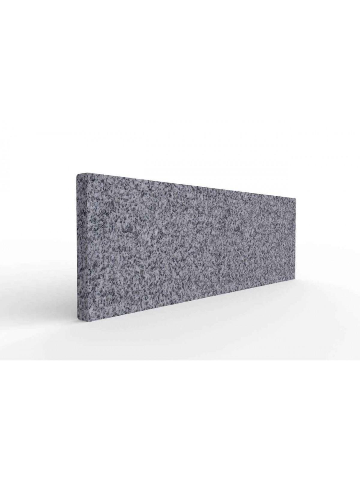 Zoccolino 8x1 in diorite scura