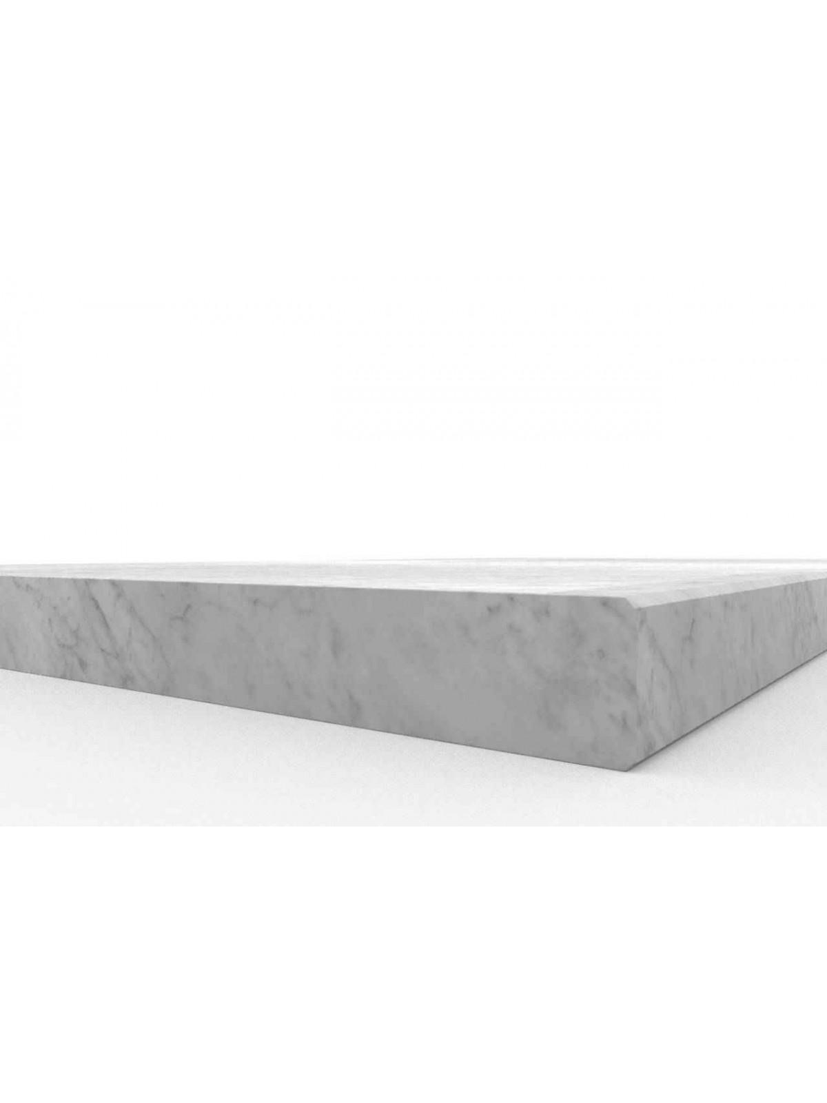 Pedata in Bianco di Carrara