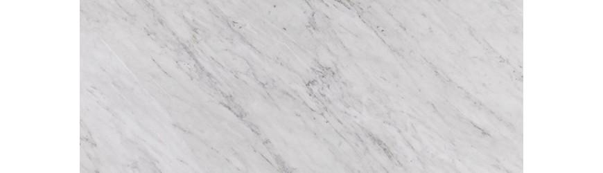 Top cucina su misura in Marmo Bianco di Carrara
