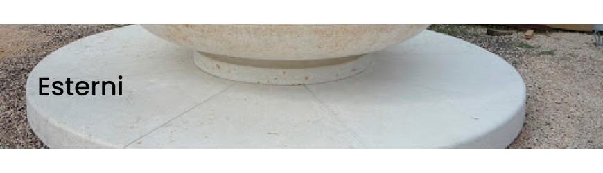 Fontane in Granito, Marmo e Pietra per Esterni